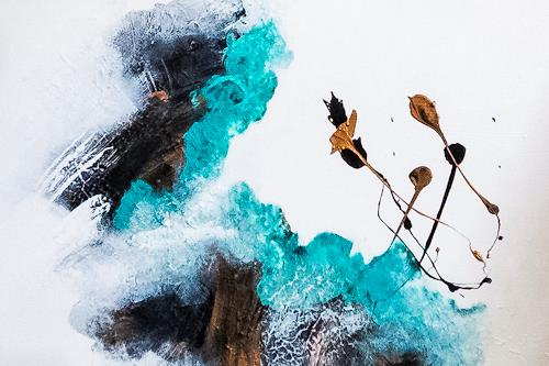 Ingrid TROLP, cocoon, Abstraktes, Fantasie, Gegenwartskunst, Expressionismus
