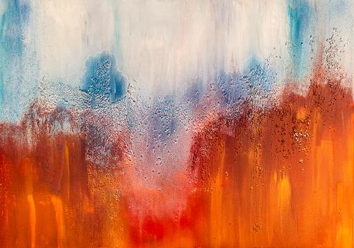 Ingrid TROLP, fusion, Abstraktes, Gegenwartskunst