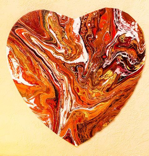 Ingrid TROLP, Liebe, Abstraktes, Gefühle: Liebe, Gegenwartskunst