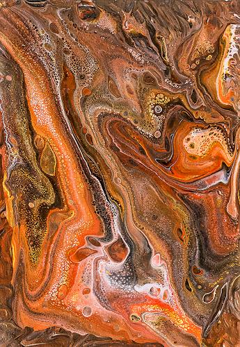 Ingrid TROLP, terra viva, Abstraktes, Natur: Erde, Gegenwartskunst, Expressionismus