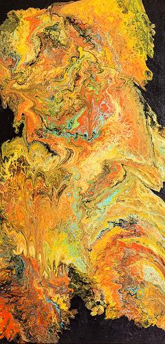 Ingrid TROLP, Andromeda, Abstraktes, Gegenwartskunst