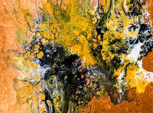 Ingrid TROLP, Amria - die rote Erde Marokkos, Abstraktes, Natur: Erde, Gegenwartskunst, Abstrakter Expressionismus