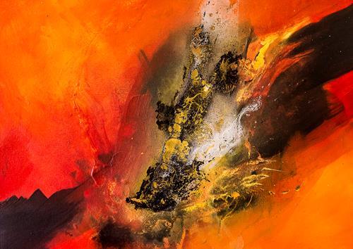 Ingrid TROLP, Aus dem Tal der Dunkelheit, Abstraktes, Diverses, Gegenwartskunst