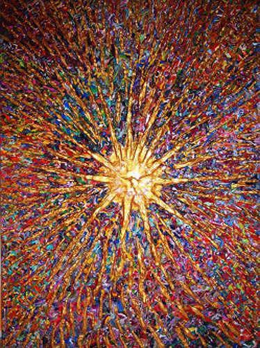 Ralf Hasse, Sonne Urknall, Stilleben, Bewegung, Neuzeit