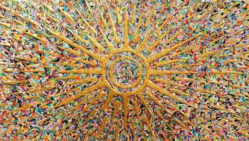 Ralf Hasse, Sonnengott,Sonne, Sonnenzeichen,sonnensymbol, Abstraktes, Dekoratives, Konzeptkunst