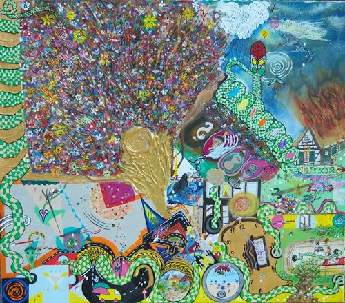 Ralf Hasse, Lebensweg, Fantasie, Gefühle: Freude, Naive Kunst