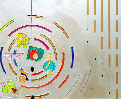 Ralf Hasse, HASSE, Abstraktes, Dekoratives, Moderne, Abstrakter Expressionismus