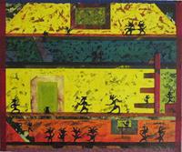 Manuel-Sueess-Gefuehle-Freude-Diverse-Menschen-Moderne-Expressionismus-Abstrakter-Expressionismus