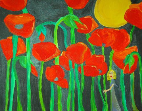 Katharina Orlowska, verloren, Pflanzen: Blumen
