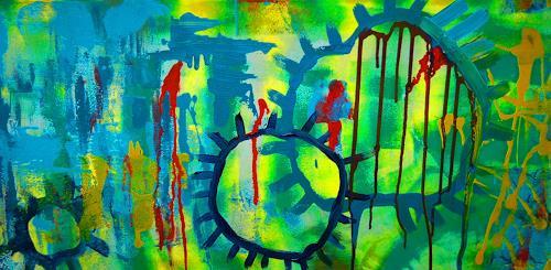 Katharina Orlowska, In meinem Kopf, Abstraktes, Abstrakte Kunst