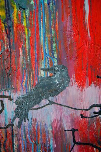 Katharina Orlowska, Ausschnitt, Tiere: Luft