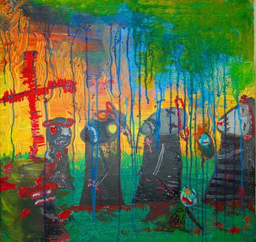Katharina Orlowska, Der Kreuzzug, Religion, Gefühle: Aggression