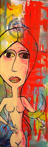 Katharina Orlowska, First cut, Akt/Erotik: Akt Frau, Gefühle: Angst