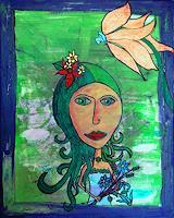 Katharina-Orlowska-Menschen-Frau-Pflanzen-Blumen