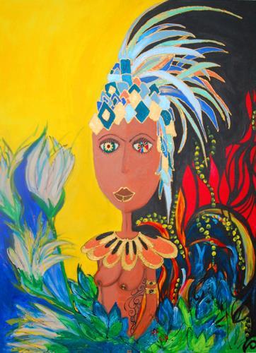 Katharina Orlowska, Welcome to the jungle, Akt/Erotik: Akt Frau, Natur: Diverse