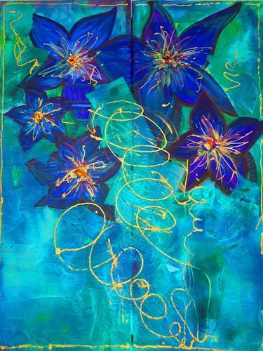 Katharina Orlowska, Flower Explosion, Pflanzen: Blumen