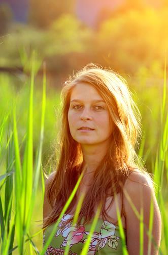 Katharina Orlowska, sun shiny girl, Menschen: Frau, Natur