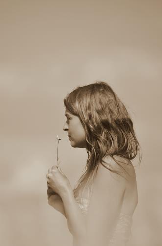 Katharina Orlowska, summer blues, Menschen: Frau, Romantik, Abstrakte Kunst