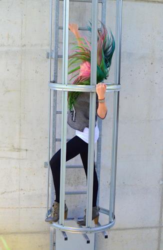 Katharina Orlowska, dance!, Menschen: Frau, Bewegung, Abstrakter Expressionismus