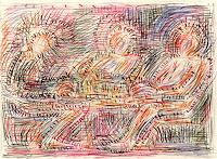 Vasiliy-Tsabadze-Menschen-Gruppe-Moderne-Impressionismus-Postimpressionismus