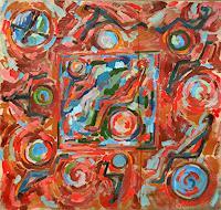 Vasiliy-Tsabadze-Abstraktes-Moderne-Abstrakte-Kunst-Action-Painting