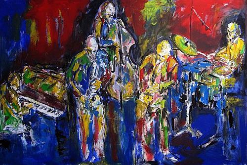 René, jazzquintet, Musik: Konzert, Musik: Musiker, Abstrakter Expressionismus
