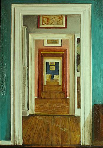 zimmerflucht im goethehaus in weimar von annika peter wohnen zimmer malerei. Black Bedroom Furniture Sets. Home Design Ideas