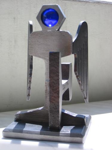 e.w. bregy, engel der schiene, Fantasie, Abstrakte Kunst