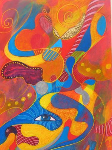 e.w. bregy, kinderträume, Fantasie, Abstrakte Kunst