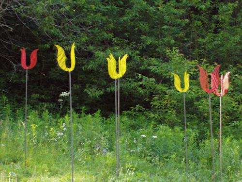 e.w. bregy, grengjier tulpen, Pflanzen: Blumen, Abstrakte Kunst