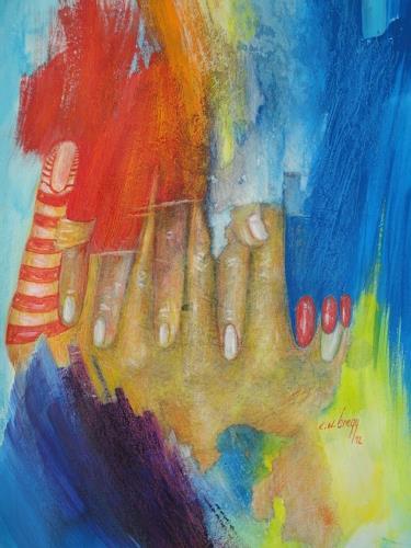 e.w. bregy, hand in hand, Fantasie