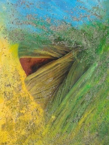 e.w. bregy, wüstensand: frau, Menschen: Gesichter, Expressionismus