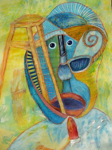 e.w. bregy, der maler, Fantasie