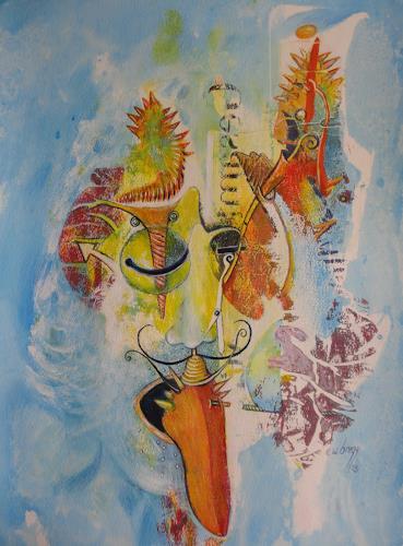 e.w. bregy, Seelenlandschaften: Hommage à Dali, Fantasie