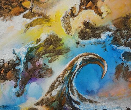 e.w. bregy, heimaterde - tierra natal No 5, Abstraktes, Gegenwartskunst, Expressionismus