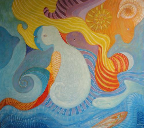 e.w. bregy, frühlingsträume, Fantasie