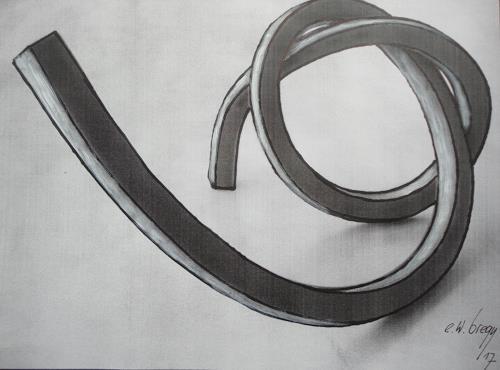 e.w. bregy, Skizze für eine Eisenplastik, Fantasie, Gegenwartskunst