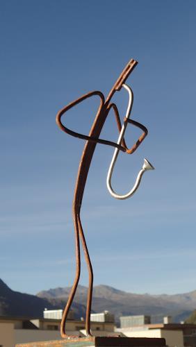 e.w. bregy, Saxophonspieler, Menschen: Mann, Abstrakte Kunst, Abstrakter Expressionismus