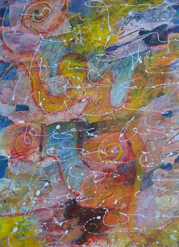 e.w. bregy, Hommage à R.M. Rilke: Herbsttag, Fantasie, Gegenwartskunst
