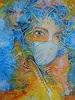 e.w. bregy, Masken - das zweite Gesicht: Dornengekrönte Maske, Menschen: Porträt, Gegenwartskunst