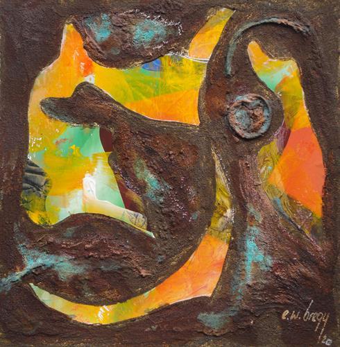 e.w. bregy, rostARTig von A - Z, Fantasie, Gegenwartskunst, Abstrakter Expressionismus
