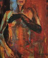 Beate-Hildebrandt-Akt-Erotik-Akt-Frau-Menschen-Frau-Gegenwartskunst--Gegenwartskunst-