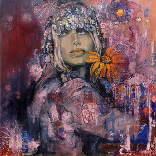 Beate Hildebrandt, Love Generation II, Menschen: Gesichter, Gesellschaft, Gegenwartskunst, Expressionismus