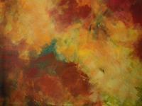 Brigitte-Raz-Goldau-Abstraktes-Pflanzen-Baeume-Gegenwartskunst--Gegenwartskunst-
