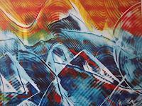 Brigitte-Raz-Goldau-Abstraktes-Natur-Wasser-Gegenwartskunst--Gegenwartskunst-
