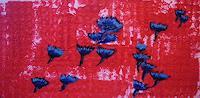 Brigitte-Raz-Goldau-Pflanzen-Blumen-Gegenwartskunst--Gegenwartskunst-