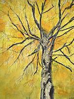Brigitte-Raz-Goldau-Natur-Wald-Pflanzen-Baeume-Gegenwartskunst--Gegenwartskunst-