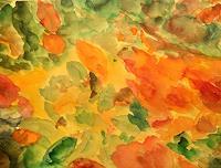Brigitte-Raz-Goldau-Dekoratives-Pflanzen-Blumen-Gegenwartskunst--Gegenwartskunst-