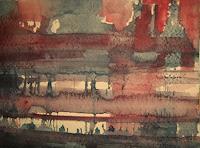 Brigitte-Raz-Goldau-Architektur-Fantasie-Gegenwartskunst--Gegenwartskunst-