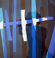 Brigitte-Raz-Goldau-Abstraktes-Arbeitswelt-Gegenwartskunst--Gegenwartskunst-